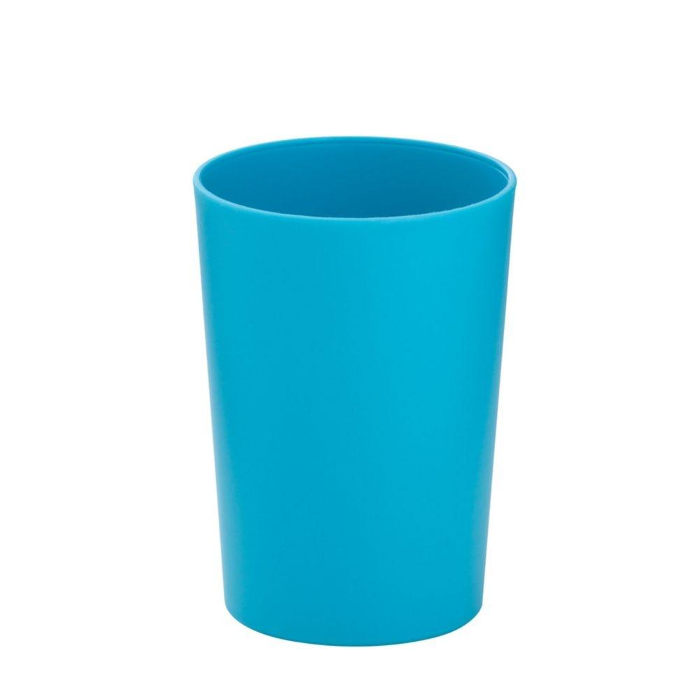 Pohár MARTA plastik tyrkys H 11cm / Ř 8cm KELA KL-24176