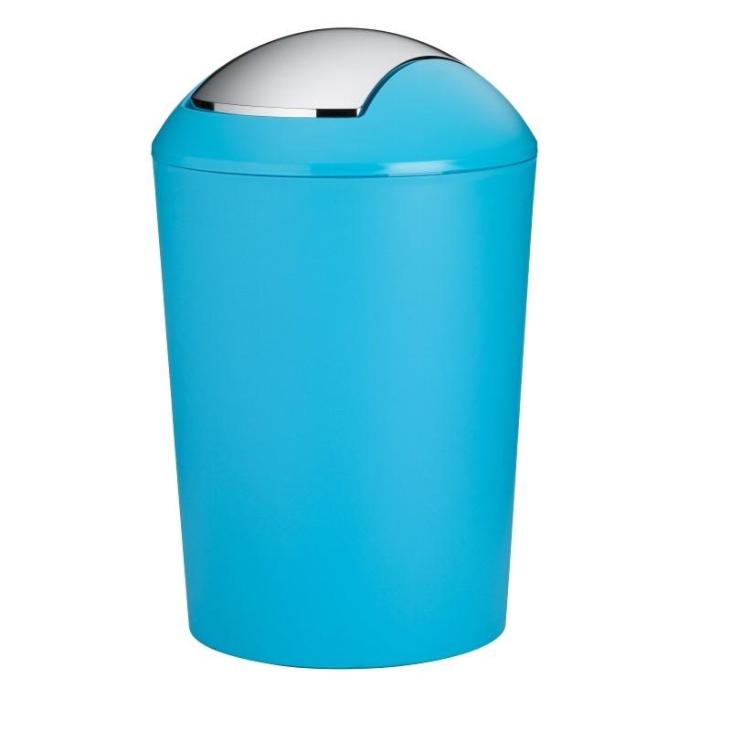 Odpadkový koš MARTA plastik tyrkys H 50cm / Ř 32cm / 25 KELA KL-24178