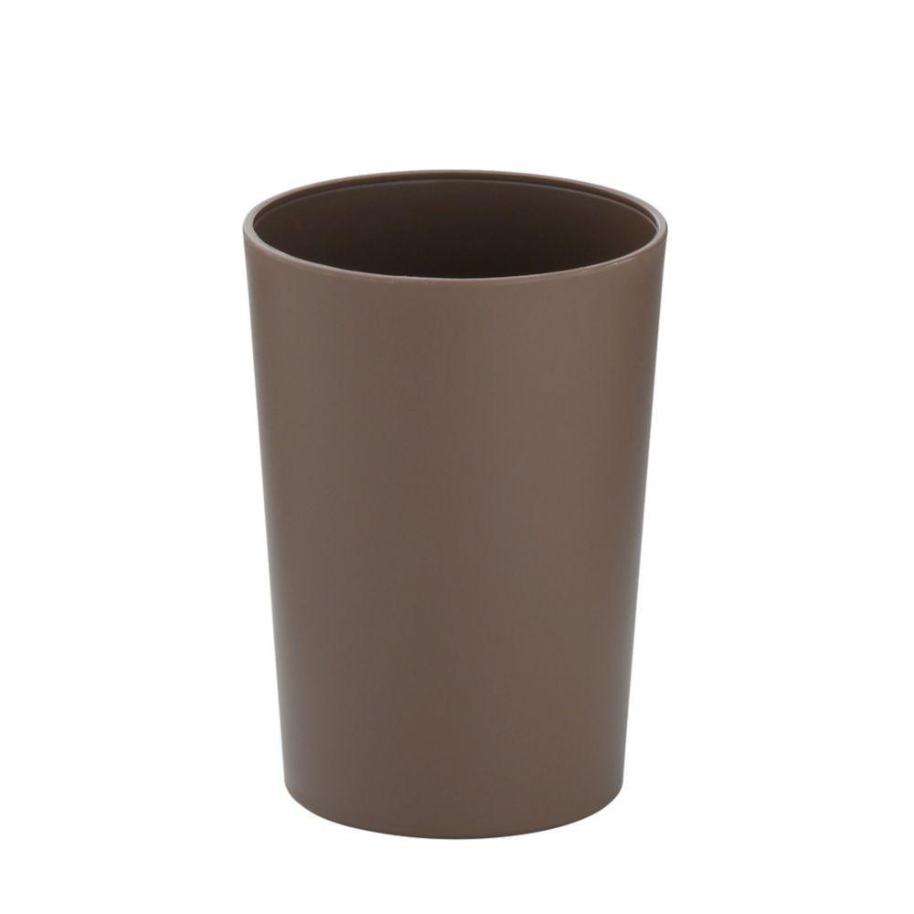 Pohár MARTA plastik šedohnědá H 11cm / Ř 8cm KELA KL-24186