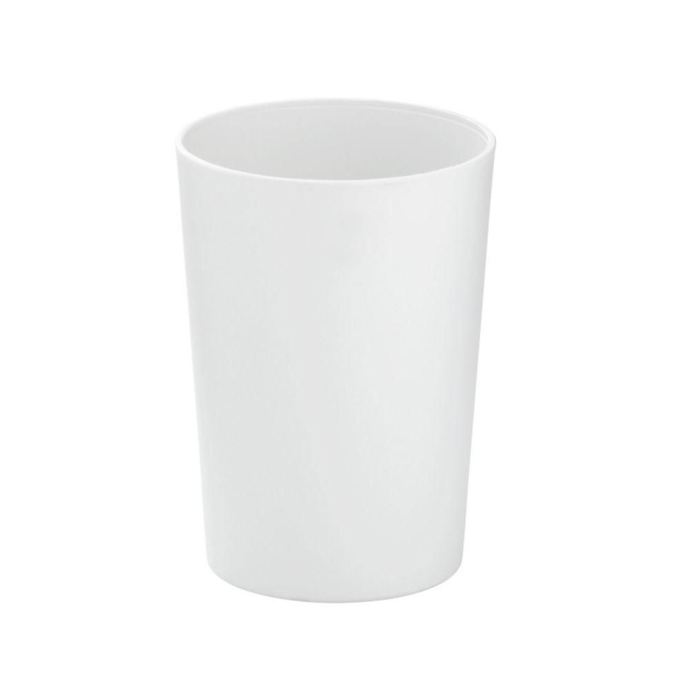 Pohár MARTA plastik bílá H 11cm / Ř 8cm KELA KL-24191