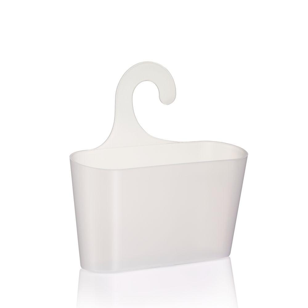 Levně Košík MAGGY PP Plastik bílá transparent L 26cm x W 8,5cm x H 14cm KELA KL-24270