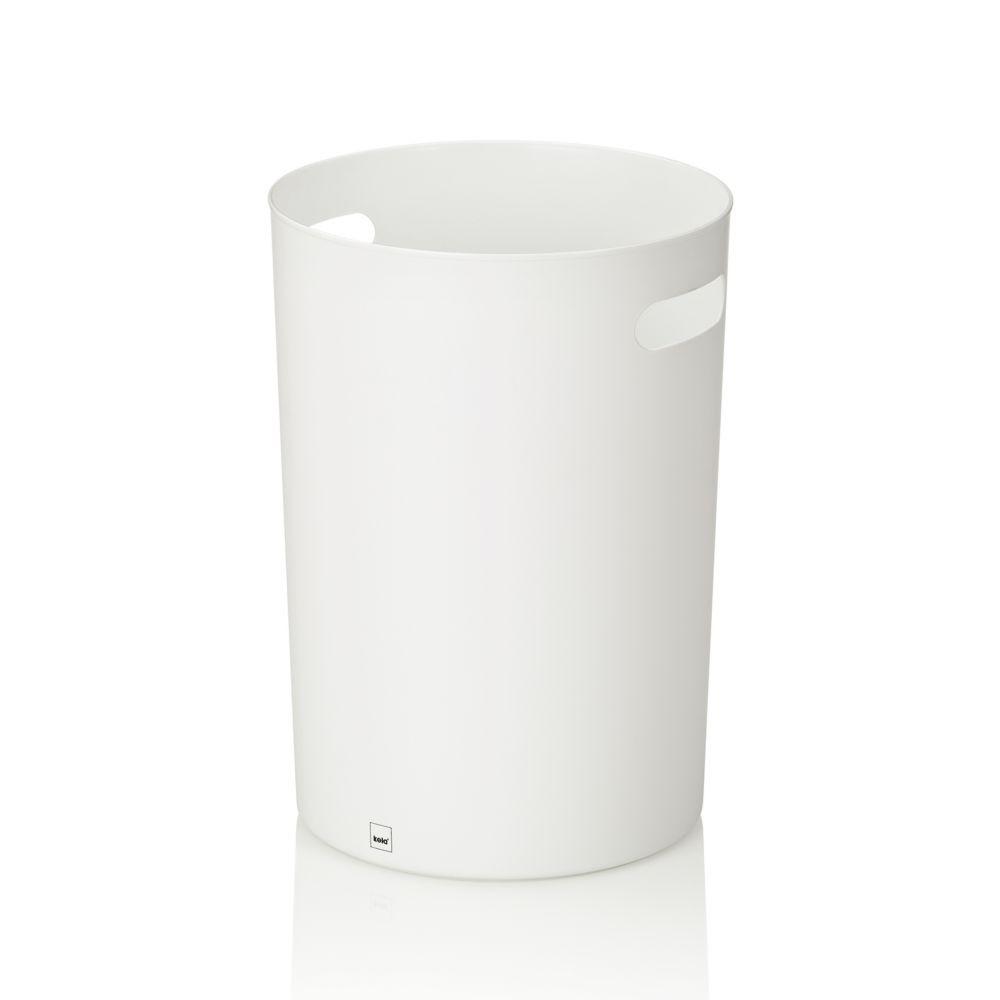 Odpadkový koš MIRO PP-plastik bílý 10L