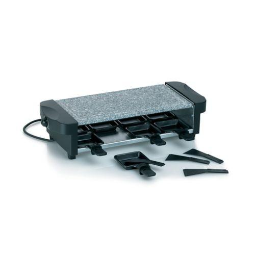Raclette gril CENERI s žulovou grilovací plochou 8 pánviček KELA KL-66663
