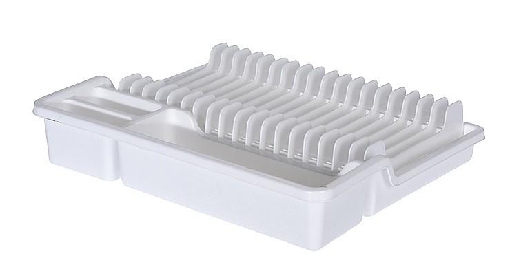 Odkapávač na nádobí rozkládací 35x30cm bílá EXCELLENT KO-022000140bi