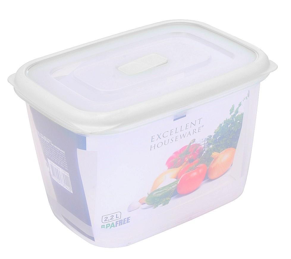 Dóza na potraviny plast 2,2 l