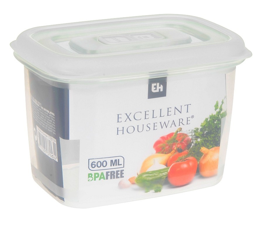 Dóza na potraviny plast 600 ml
