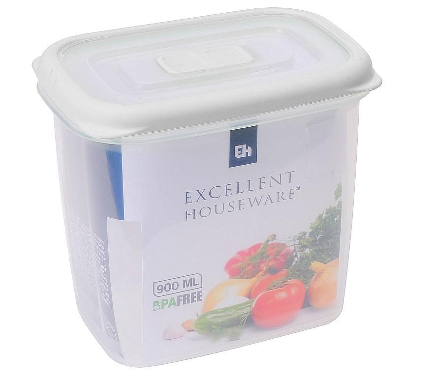 Dóza plastová 0,9 l bílá EXCELLENT KO-030000290