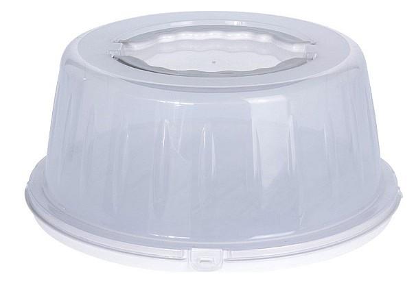 Box na potraviny s víkem přenosný bílá