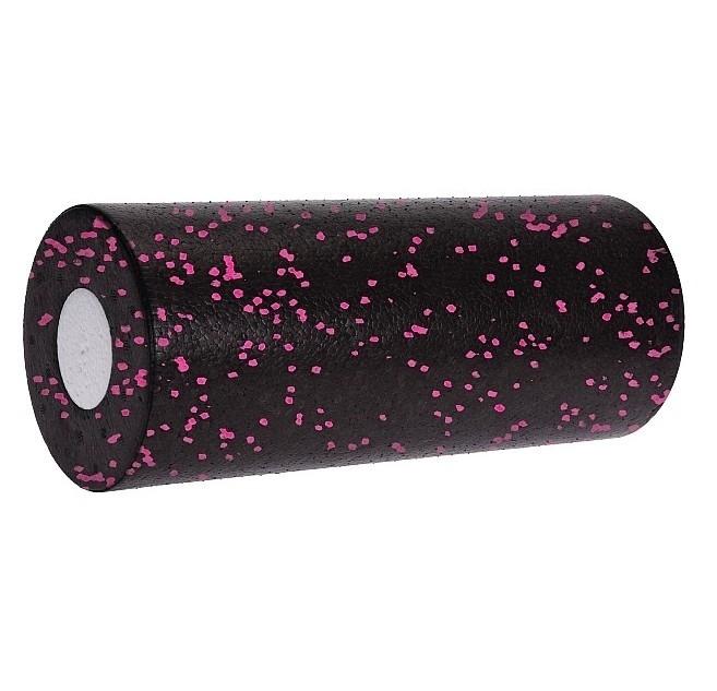 Jóga válec pěnový Foam Roller 2v1 33x14cm růžová