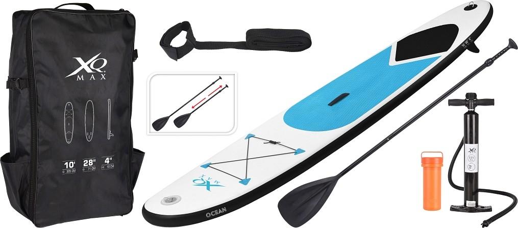 Paddleboard pádlovací prkno 305 cm Ocean kompletní příslušenství, modrá XQMAX KO-128940060