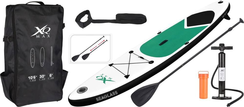 Paddleboard pádlovací prkno 320 cm Tornado kompletní příslušenství, zelená XQMAX KO-128940100