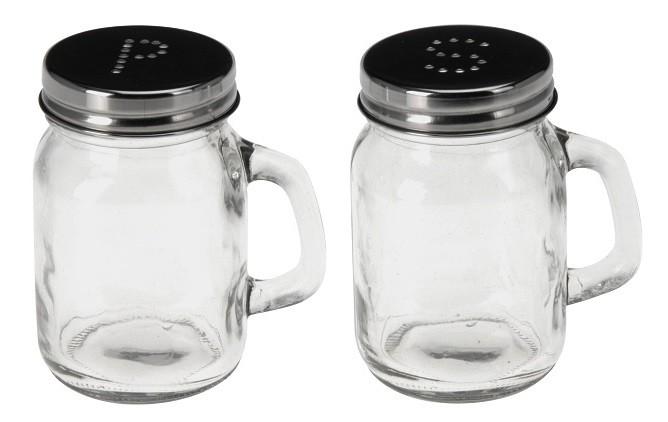Solnička a pepřenka sklo