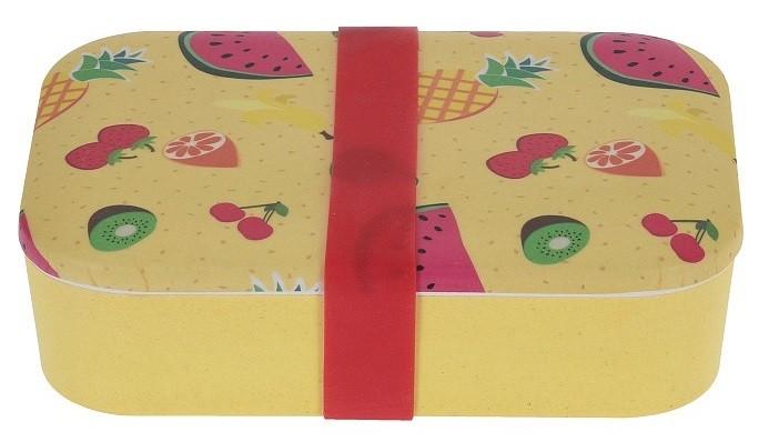 Box na svačinu bambusové vlákno oranžová EXCELLENT KO-170427280