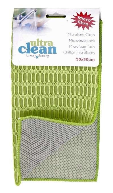 Utěrka / odkapávač na nádobí mikrovlákno 30x30 cm zelená