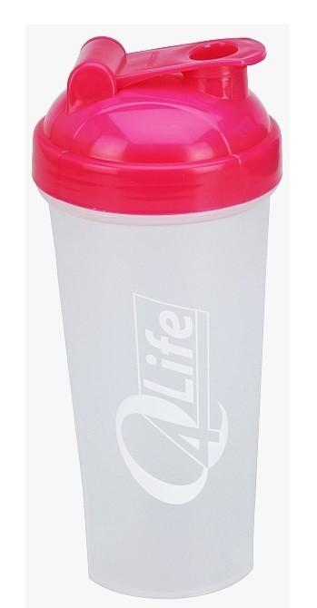 Shaker Q4Life 700 ml růžový XQMAX KO-314416120ruzo