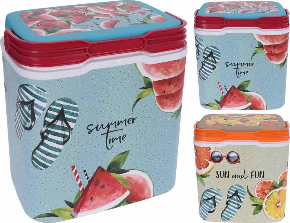 Chladicí box SUMMER TIME 29 l červená