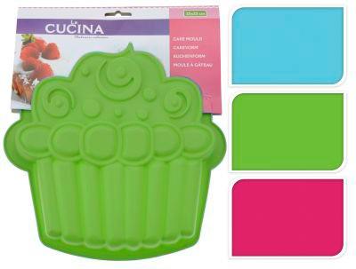Forma na dort ve tvaru muffinu, zelená