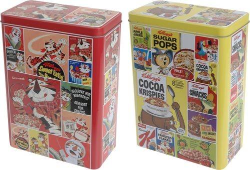Dóza na potraviny Kelloggs Cornflakes 18x10x24.5 cm EXCELLENT KO-679558380