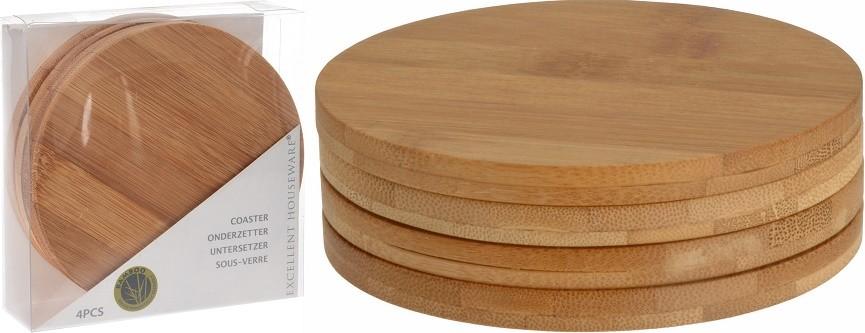 Podtácek bambus 4 ks EXCELLENT KO-784200160