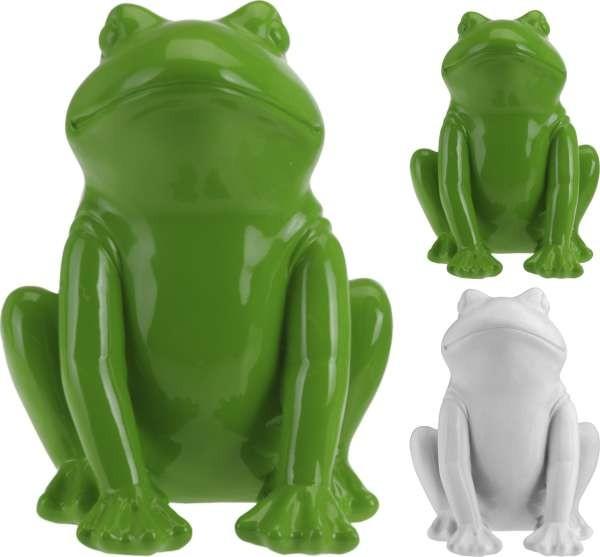 Zahradní dekorace žába 29 cm polystone