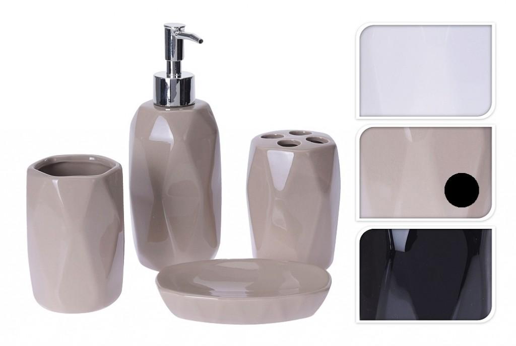 Sada do koupelny DOLOMITE 4 ks béžová EXCELLENT KO-795600040be