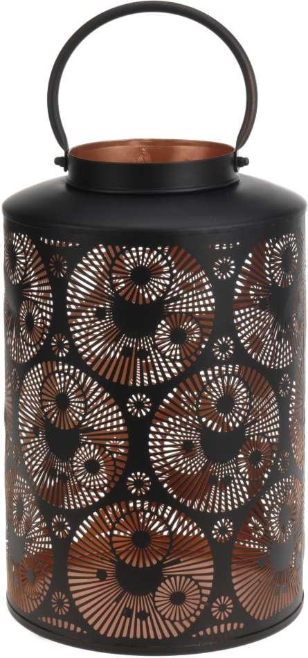 Dekorativní lucerna kovová 25 x 37cm PROGARDEN KO-A04420370