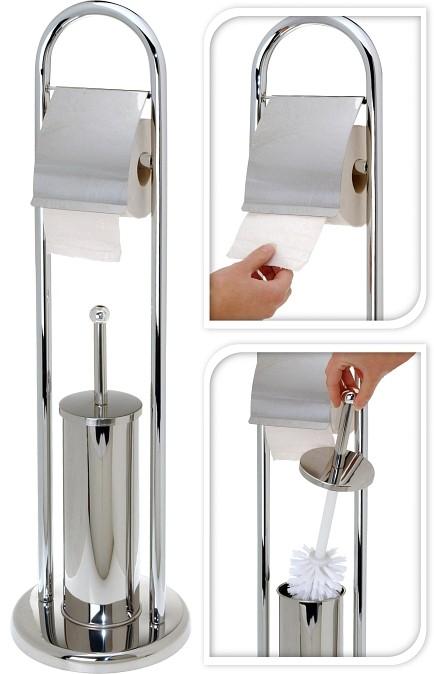 WC sada chrom 80 cm lesklá EXCELLENT KO-C80410050