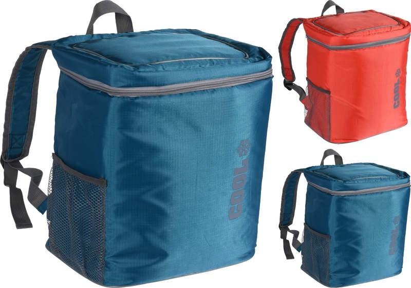 Chladící taška batoh 16 l červená