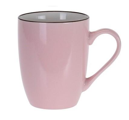 Hrnek keramika 340 ml růžová EXCELLENT KO-DN1700000ru