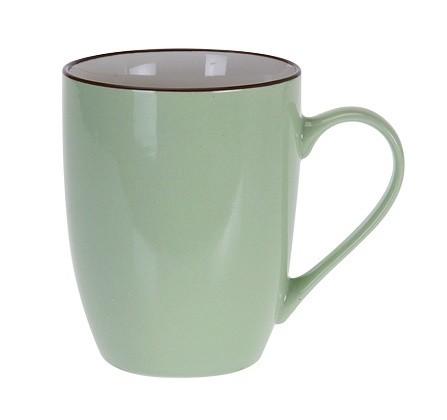 Hrnek keramika 340 ml zelená EXCELLENT KO-DN1700000ze