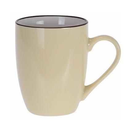 Hrnek keramika 340 ml žlutá EXCELLENT KO-DN1700000zl