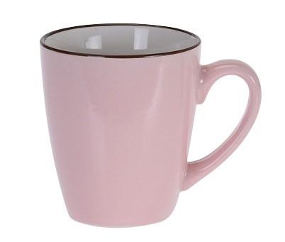 Hrnek keramika 225 ml růžová EXCELLENT KO-DN1700010ru