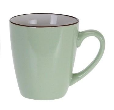 Hrnek keramika 225 ml zelená EXCELLENT KO-DN1700010ze