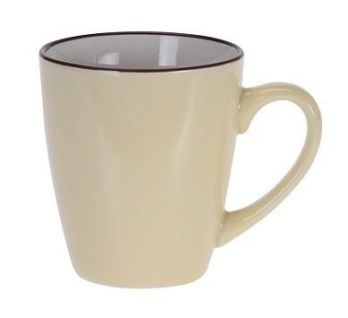 Hrnek keramika 225 ml žlutá EXCELLENT KO-DN1700010zl