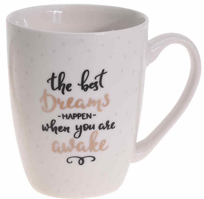Hrnek porcelán 340 ml DREAMS EXCELLENT KO-DN1800170dr