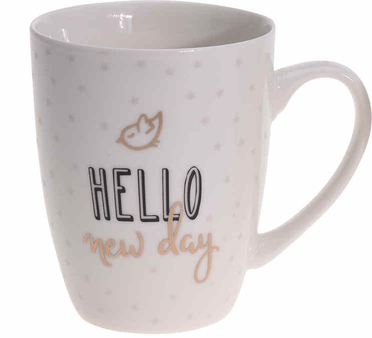 Hrnek porcelán 340 ml HELLO EXCELLENT KO-DN1800170he