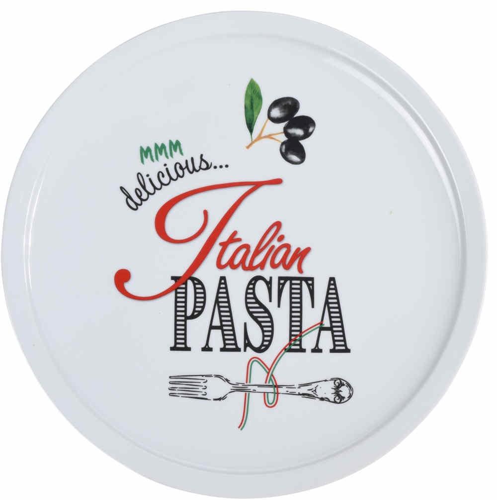 Talíř na pizzu porcelánový 30 cm PASTA EXCELLENT KO-DN3000010
