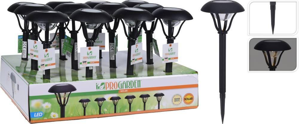 Lampa solární zahradní LED světlo 38 cm PROGARDEN KO-DT2100160