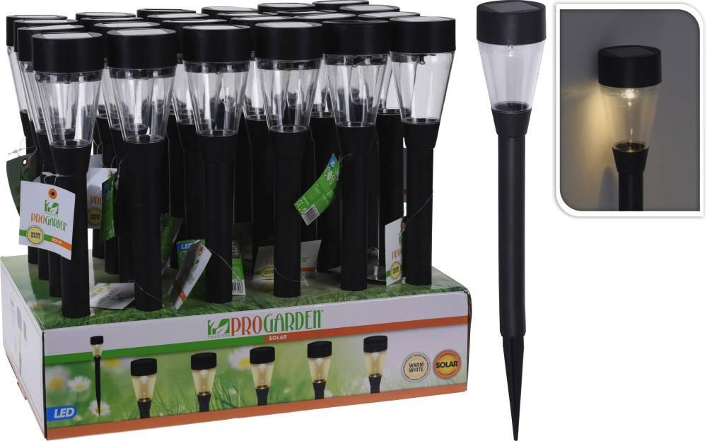 Lampa solární zahradní LED světlo 44 cm PROGARDEN KO-DT4250110