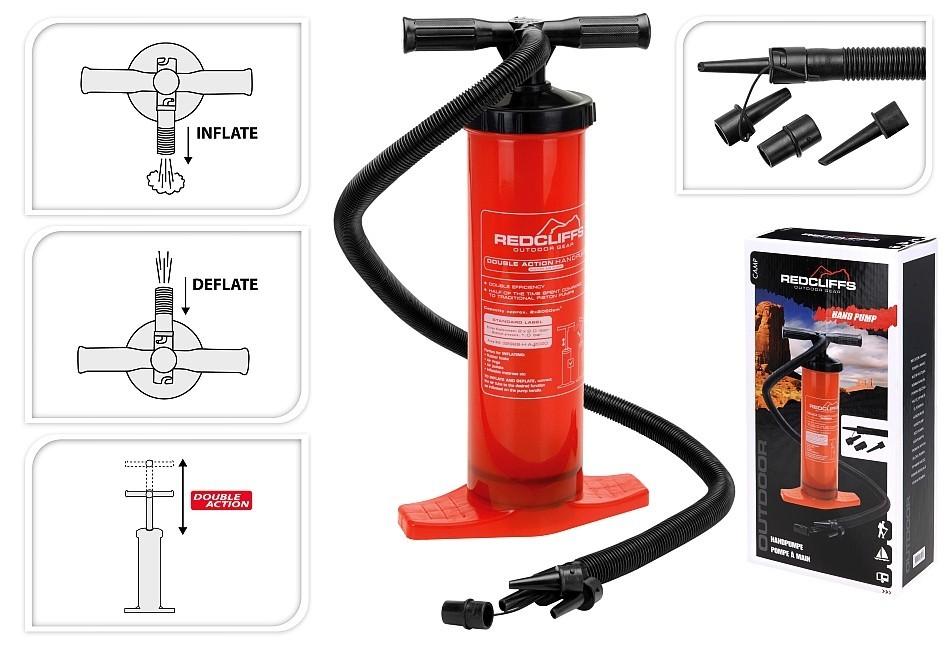 Ruční pumpa dvoučinná EXCELLENT KO-DW9700710