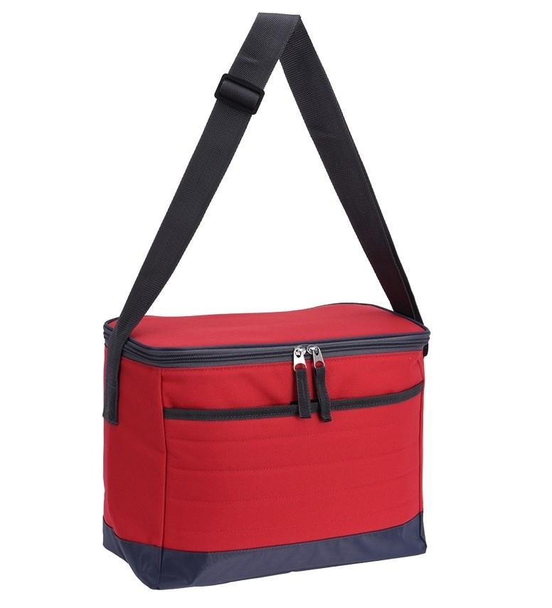 Chladící taška skládací 10 l červená