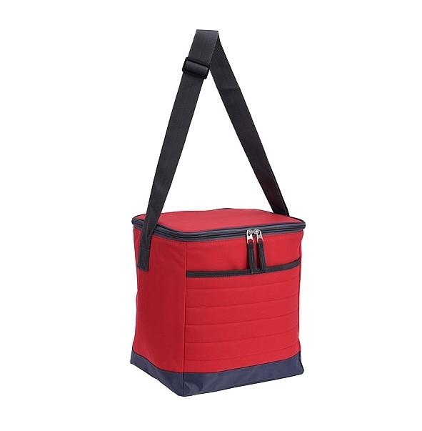 Chladící taška skládací 15 l červená