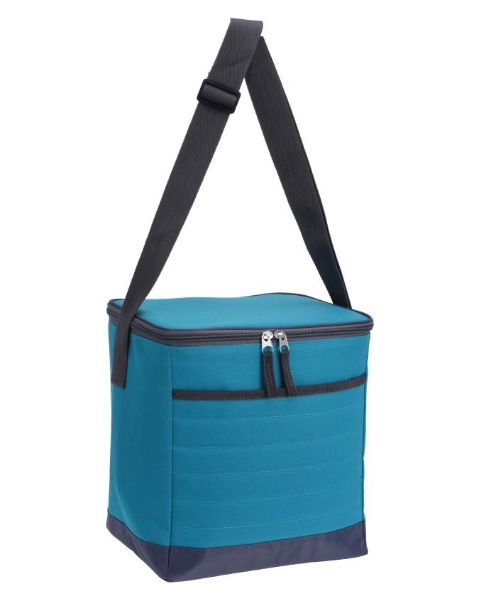 Chladící taška skládací 15 l světle modrá