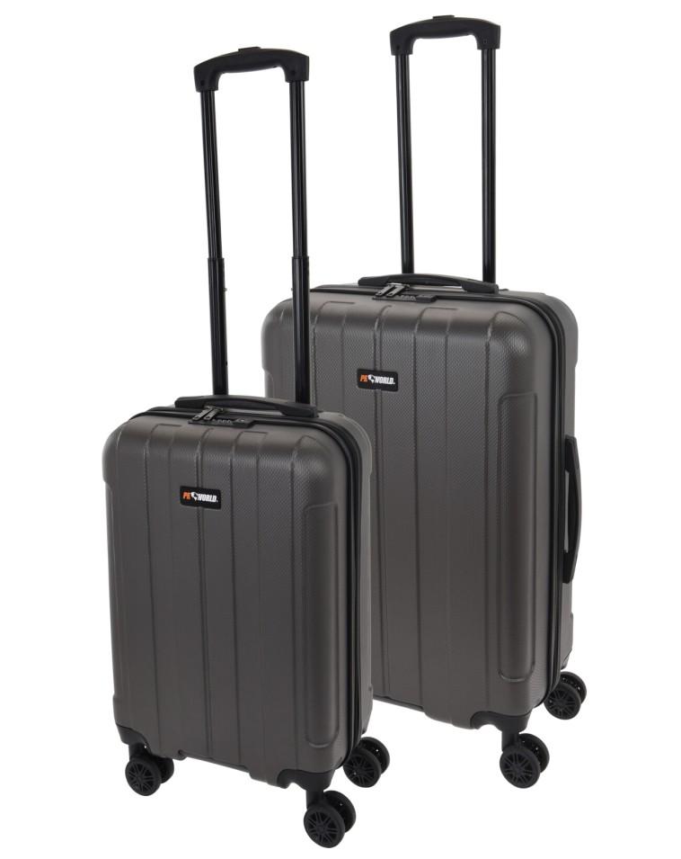Kufr cestovní a příruční na kolečkách sada 2 ks PROWORLD