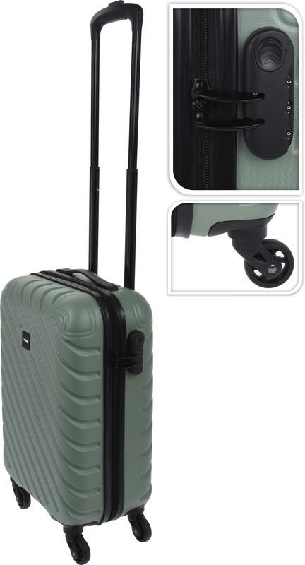 Kufr příruční na kolečkách 50 cm PROWORLD zelený EXCELLENT KO-FB5000230
