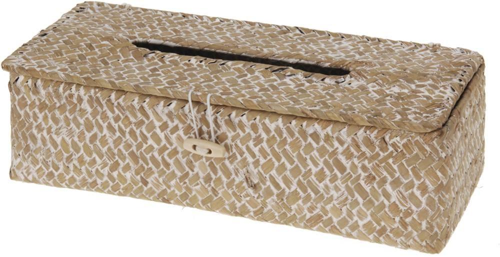 Box na kapesníky proutěný 27x12x8cm