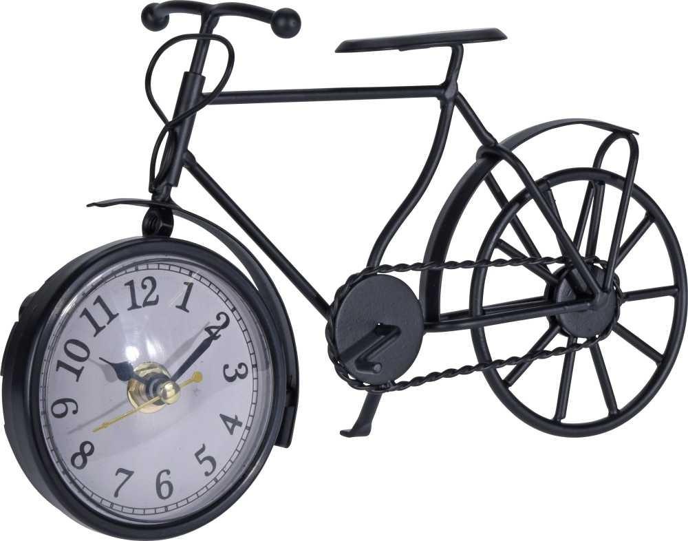 Hodiny stolní RETRO bicykl 23 cm