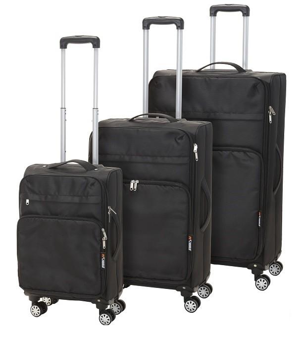 Kufr cestovní na kolečkách sada 3 ks PROGARDEN KO-K12200190