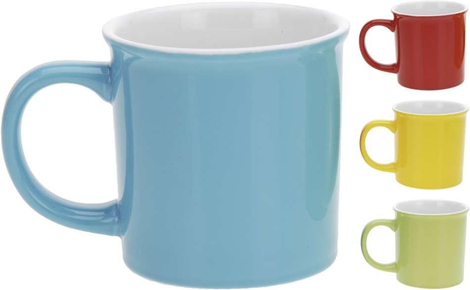 Hrnek porcelán 340 ml 4 barvy EXCELENT KO-Q51000400