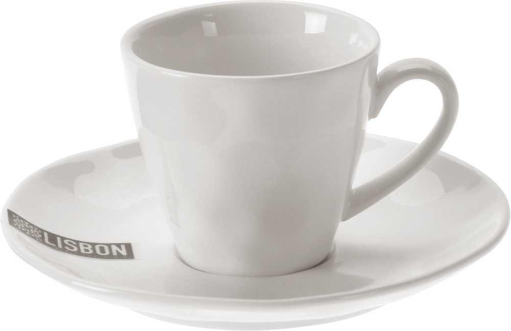 Hrnek na espresso s podšálkem porcelán 100 ml EXCELLENT KO-Q81000310